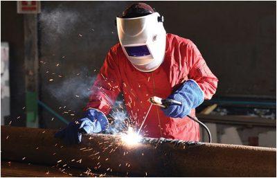 get rid of welding fumes